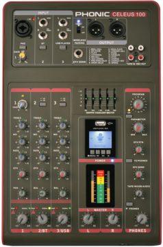 Mischpult Empfehlung für Podcasts, Streaming & Co. - Phonic Celeus 100