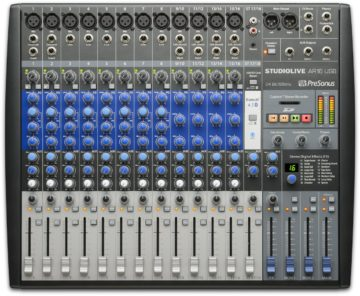 Mischpult Empfehlung für Bands - PreSonus StudioLive AR16 USB