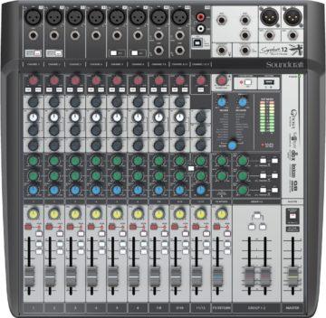Mischpult Empfehlung für Bands - Soundcraft Signature 12 MTK