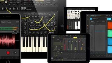 Apps Musikproduktion