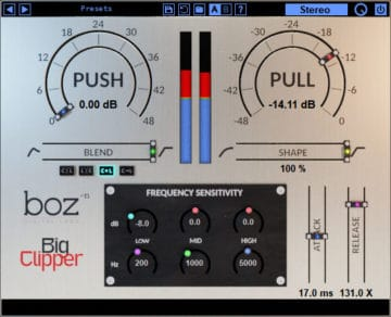Boz Digital Labs Big Clipper - Audio Plugin mit Rabatt
