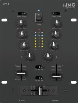 Club-Mixer - DJ-Anfänger-Ausrüstung - IMG STAGELINE MPX-1