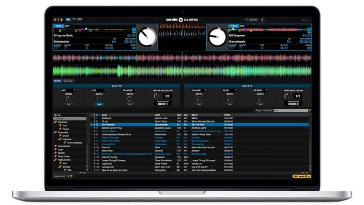 DJ Software für Anfänger - Serato DJ Intro