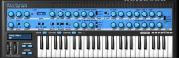Novation Bass Station - Synthesizer Plugin als Schnäppchen für Musiker