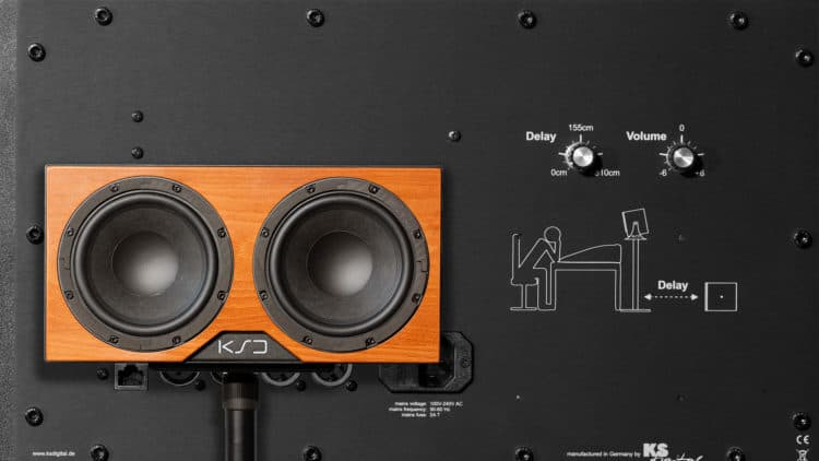 Subwoofer Phaseneinstellung - KSdigital B88-Reference