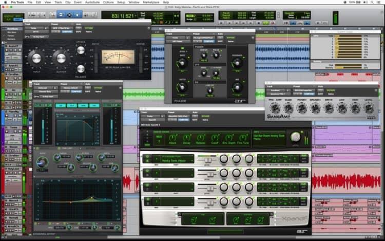 Avid Pro Tools - - Vergleich mit anderer DAW Software