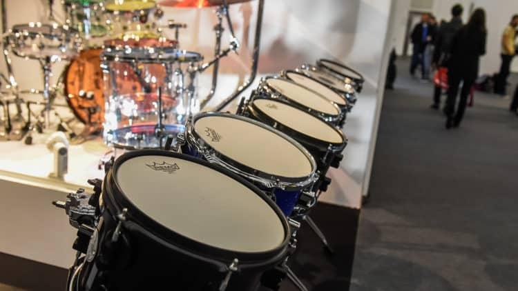 Drums auf der Musikmesse Frankfurt