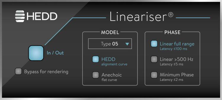 Lineariser - Plugin zur Phasenkorrektur - HEDD Type 05 Test