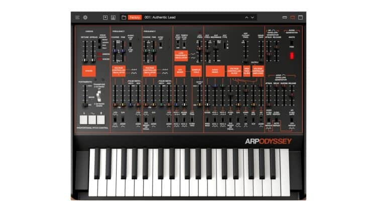 Korg Collection ARP Odyssey