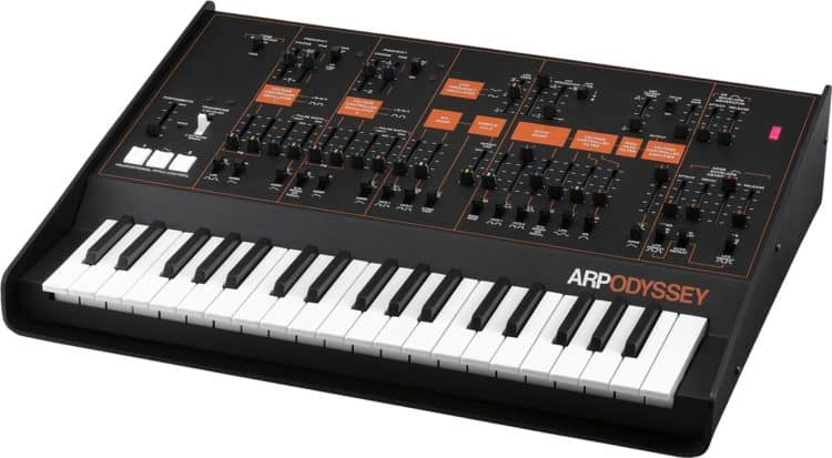 Die Hardware: Korg ARP Odyssey - Korg Collection ARP Odyssey Review