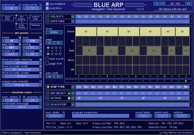 GrayWolf BlueARP - Arpeggiator Empfehlung