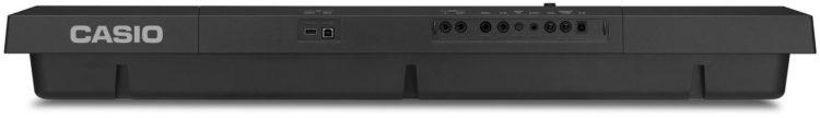 Rückseite & Anschlüsse - CASIO CT-X5000 Test