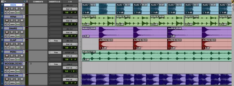 Beats bauen mit dem Synthesizer