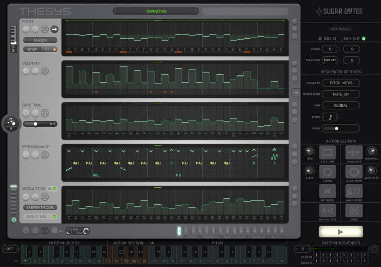 Sugar Bytes Thesys - Step Sequencer Software