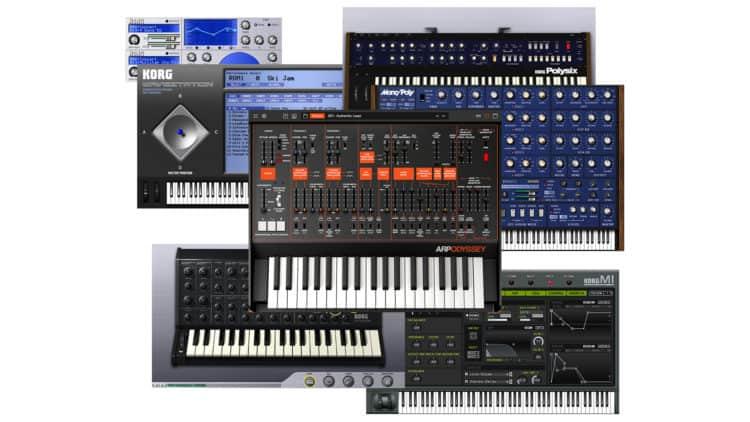 Korg Collection Review - verschiedene Plugin-Nachbildungen analoger Synthesizer