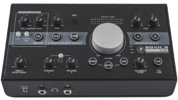 Mackie Big Knob Studio Review - Bedienfeld
