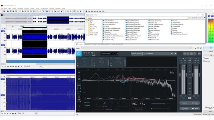 Magix Sound Forge Pro 12 Test - Benutzeroberfläche Ansicht 2
