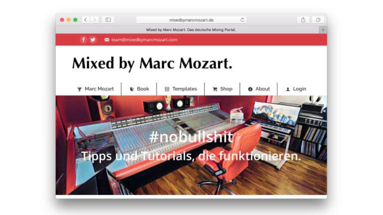 Musiker-Podcast Marc Mozart