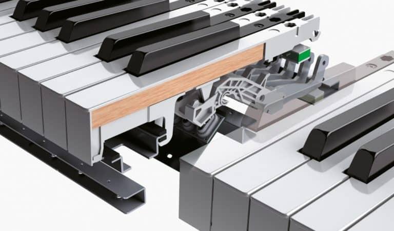 Roland HP601 Tastatur