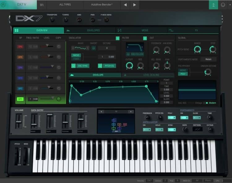 Arturia DX7 V - Synthesizer Software