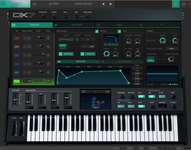 Arturia DX7 V - Synthesizer Software