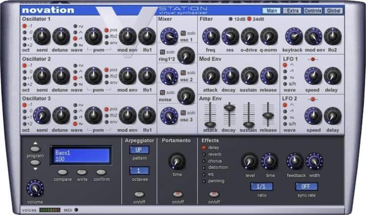 Novation V-Station - Synthesizer Software