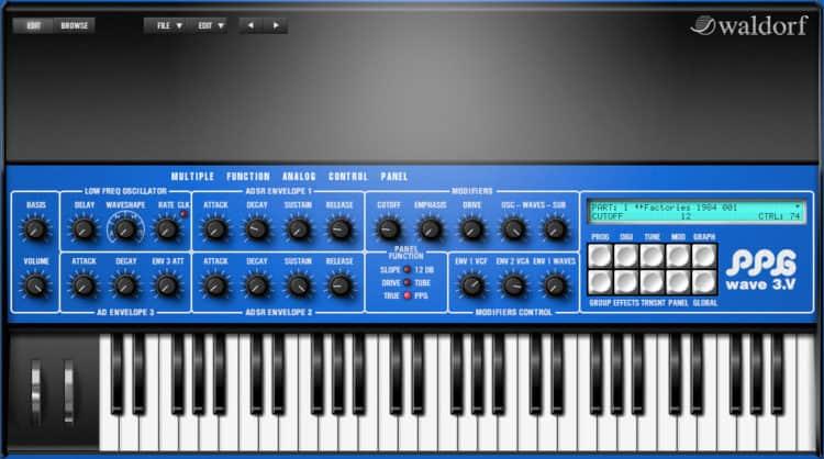 Waldorf PPG Wave 3.V - Synthesizer Software