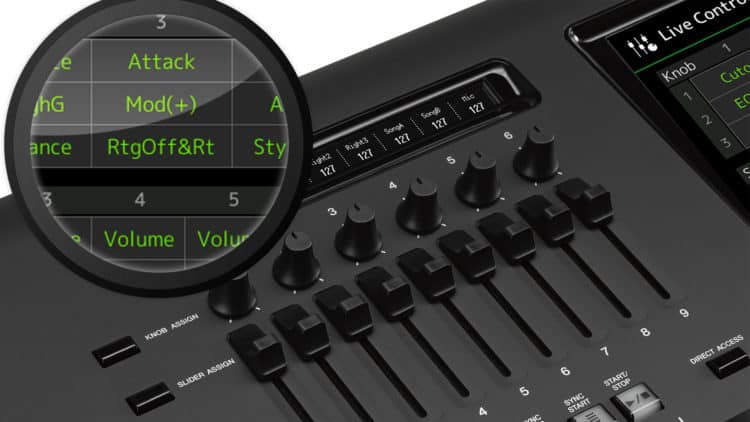 Yamaha Genos: Registrierung mit MIDI & Audio