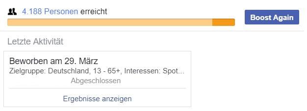 Likes kaufen schädlich FB Reichweite