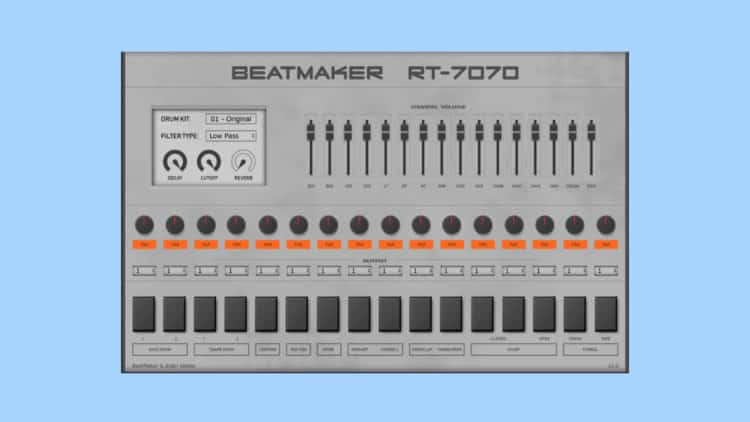 BeatMaker RT-7070