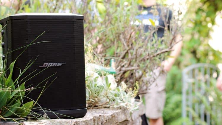 Bose S1 Pro Test