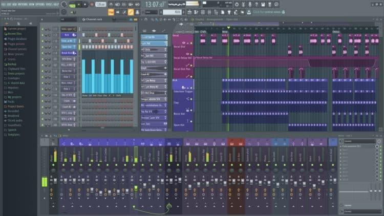 Image Line FL Studio - Beste DAW für Einsteiger in die elektronische Musik?