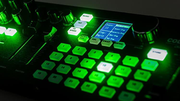 Eurolite DMX LED Color Chief Controller Test
