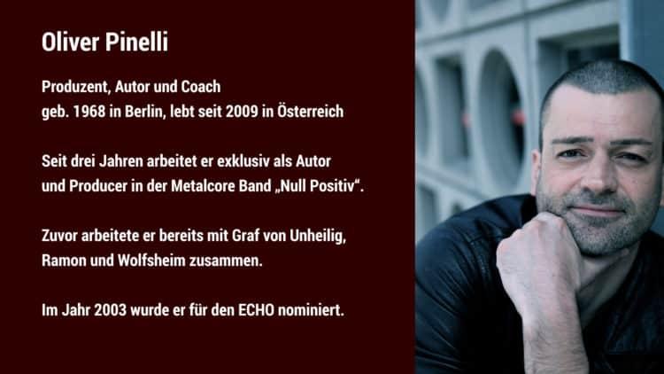 Studiomonitore Interview - Oliver Pinelli