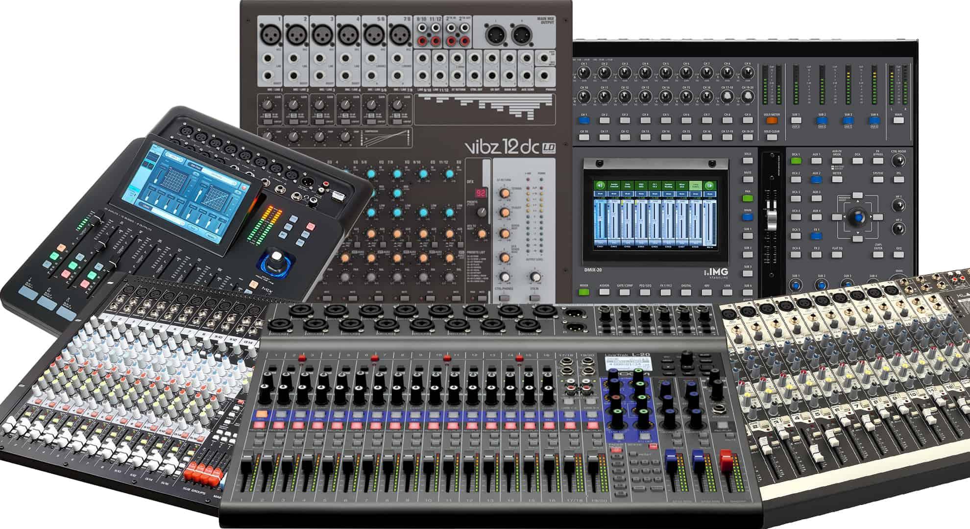 für Mischpulte /& PA-Endstufen Kleiner analoger Phono-Vorverstärker /& Entzerrer