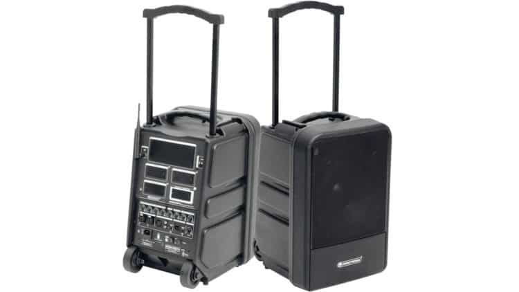 Omnitronic MOM-10BT4 - Extrem portables PA-System