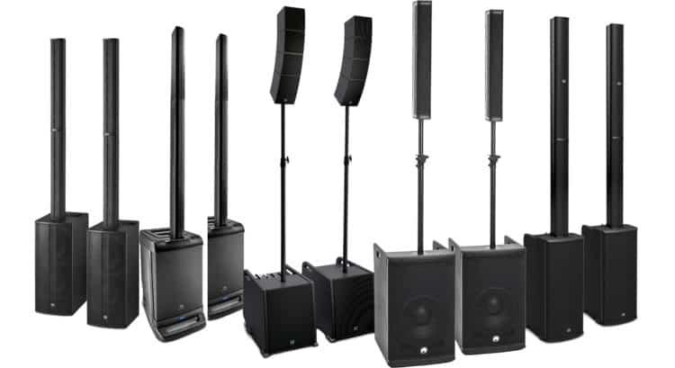 Säulen-PA in der Kaufberatung mobile PA-Anlagen