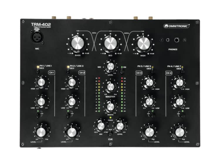 Omnitronic TRM-402 Test
