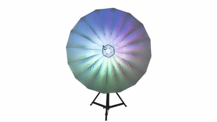 Eurolite LED Umbrella 140  RGB Lichtschirm - Ratgeber