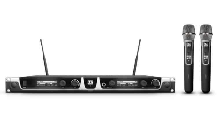 LD Systems U508 HHC 2 - Funkstrecke für Vocals