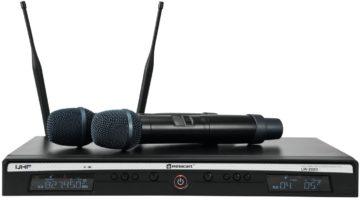 Relacart UR-222D - Funkstrecke mit zwei Handsendern für Vocals