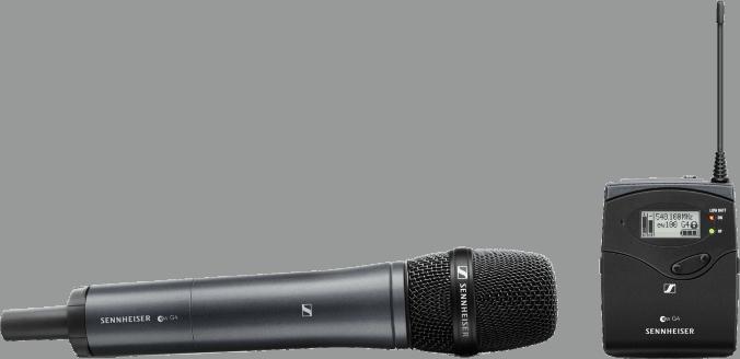Nicht nur für Vocals - Funksystem der Serie Sennheiser evolution wireless G4