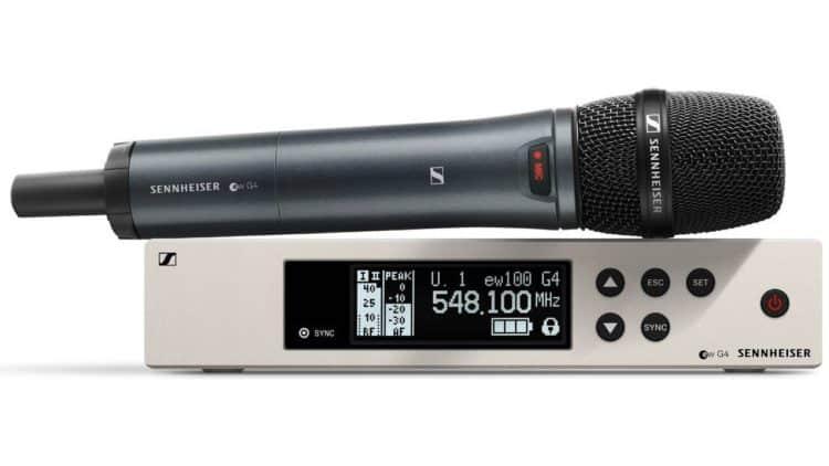 Sennheiser EW 100 G4-865-S - Funkstrecke für Vocals