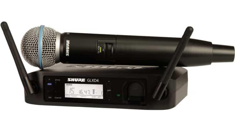 Shure GLXD24/B58A - Vocal-Funkstrecke