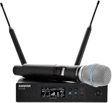 Shure QLXD24/B87A - Funkmikrofon