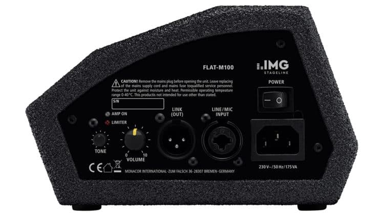 IMG Stageline FLAT-M100 Test