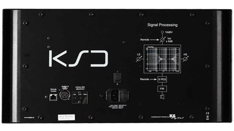 Rückseite des KSdigital C88-Reference