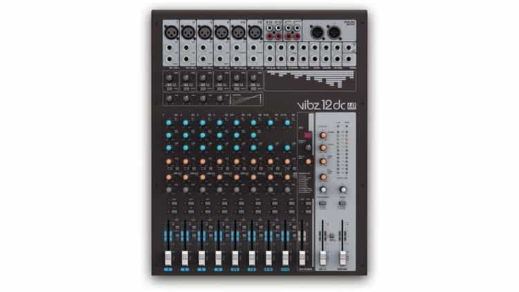 Mittelgroßes Mischpult für Live-Mixing: LD Systems VIBZ 12 DC