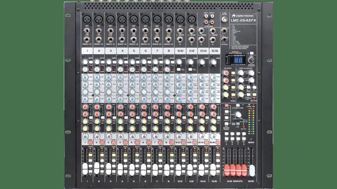 Günstiges Live-Mischpult: Omnitronic LMC-2642FX USB