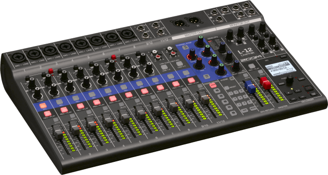 Beste Digital-Mischpult-Empfehlung: ZOOM LiveTrack L-12